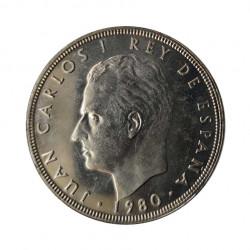 Gedenkmünze 100 Peseten Spain Weltmeisterschaft 1982 Jahr 1980 stern 80 Unzirkuliert UNZ   Sammlermünzen - Alotcoins