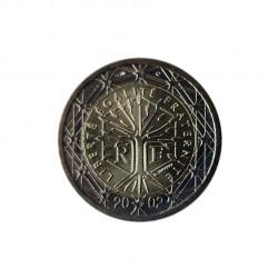 Gedenkmünze 2 Euro Frankreich Freiheit Gleichheit Brüderlichkeit Jahr 2002 | Numismatik Store - Alotcoins