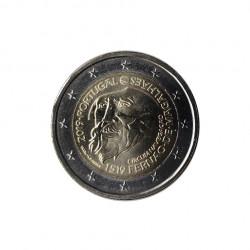 Gedenkmünze 2 Euro Portugal Ferdinand Magellan Jahr 2019 Unzirkuliert UNZ | Euromünzen - Alotcoins