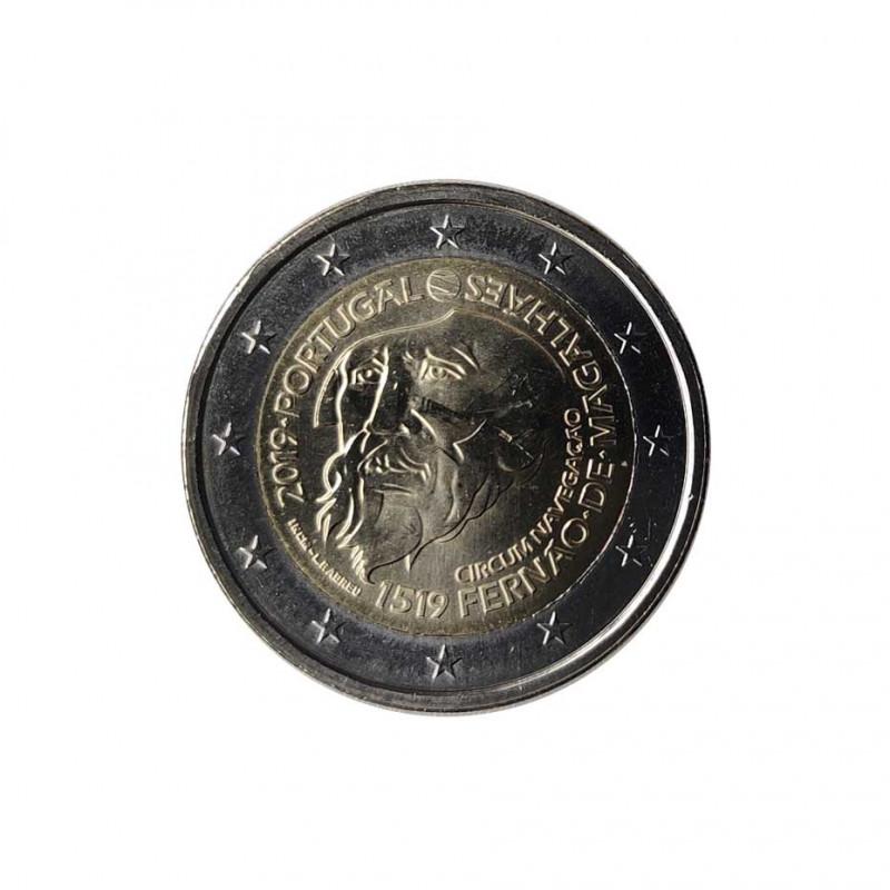 Moneda 2 Euros Conmemorativa Portugal Magallanes Año 2019 Sin circular SC | Monedas de colección - Alotcoins