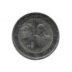Moneda 2 Euros Conmemorativa Luxemburgo Gran Duque Guillermo III Año 2017 Sin circular SC | Numismática española - Alotcoins