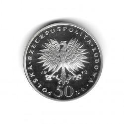 Coin 50 Zlotys Poland Fryderyk Chopin Year 1972 2 | Numismatics Online - Alotcoins