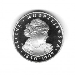 Coin Poland Year 1975 100 Zloty Helena Silver Proof PP