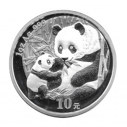 Coin China 10 Yuan Year 2005 Silver Panda Proof