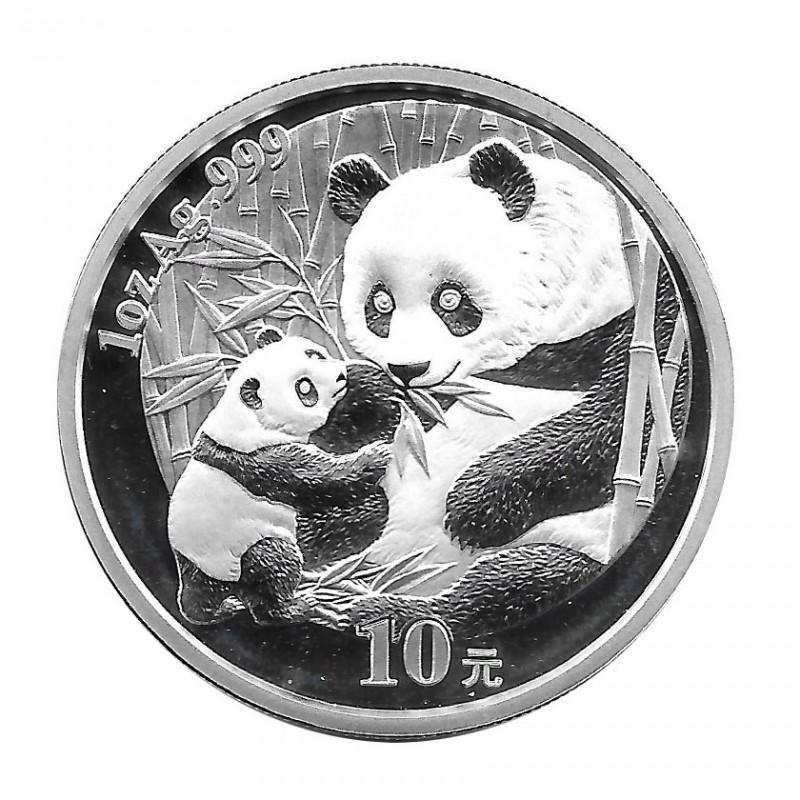 Coin China 10 Yuan Year 2005 Silver Panda Proof