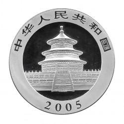 Münze China 10 Yuan Jahr 2005 Silber Panda Proof