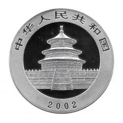Coin China 10 Yuan Year 2002 Silver Panda Proof
