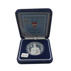 Coin 100 Schilling Austria Rudolf I Year 1991 - ALOTCOINS