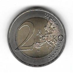 """Münze 2 Euros Deutschland Mecklenburg """"D"""" Jahr 2007"""