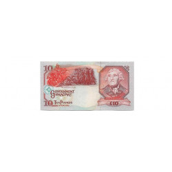 Banknote Gibraltar Year 1995 10 Pound Uncirculated UNC