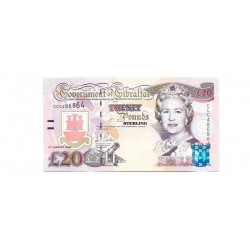 Banknote Gibraltar Year 2004 20 Pound Uncirculated UNC
