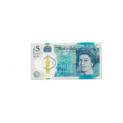 Banknote England 5 Pound Uncirculated UNC