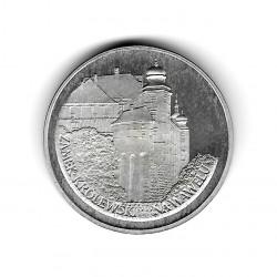 Moneda de Polonia Año 1977 100 Zlotys Krakau Plata Proof PP