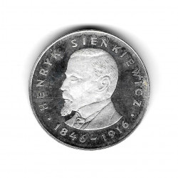 Münze Polen Jahr 1977 100 Złote Sienkiewicz Silber Proof PP