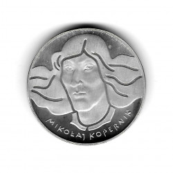 Coin Poland Year 1973 100 Zloty Copernicus Silver Proof PP
