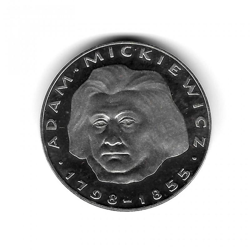 Münze Polen Jahr 1978 100 Złote Mickiewicz Silber Proof PP