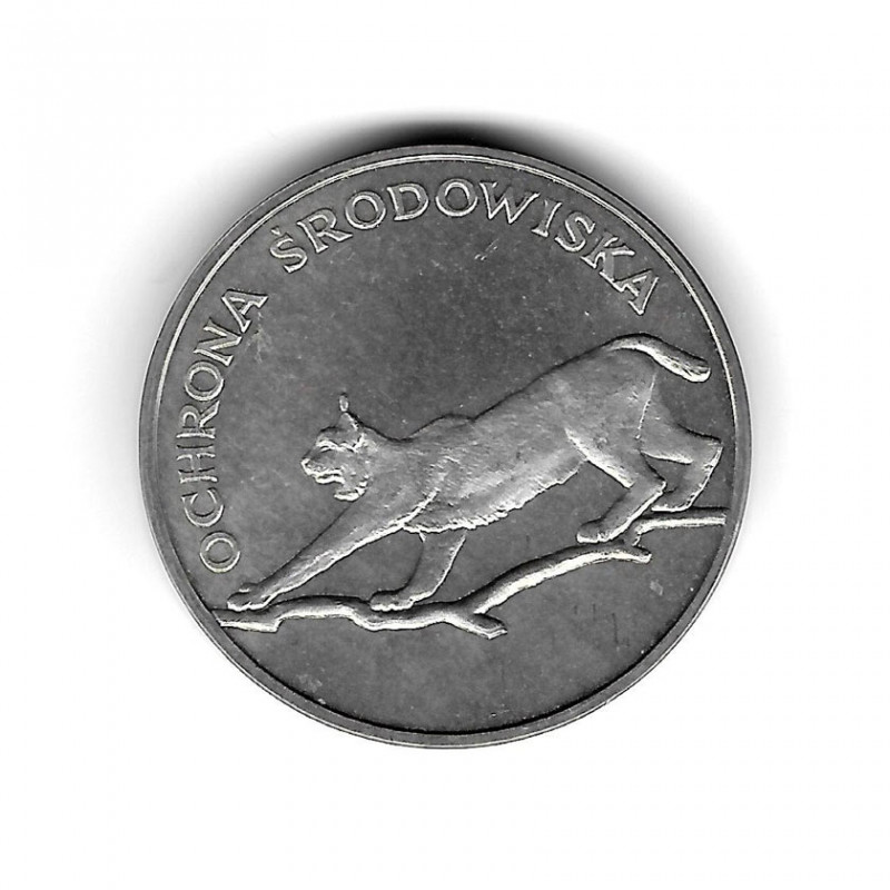 Coin Poland Year 1979 100 Zloty Luchs Silver Proof PP