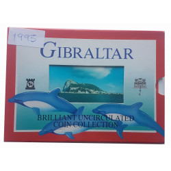 Set de Monedas Gibraltar Año 1995 Sin Circular Proof PP