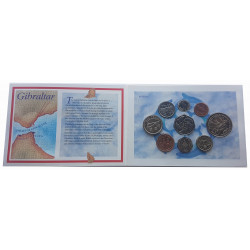 Pack Coin Gibraltar Year 1995 Uncirculated PP UNC