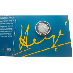 Coin Belgium Year 2004 Silver Tin Tin Herge Uncirculated UNC