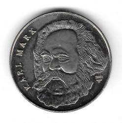 Coin 1 Peso Cuba Karl Marx Year 2002 - ALOTCOINS
