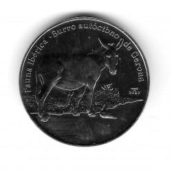Coin Cuba 1 Peso Year 2007 Donkey of Gerona