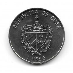 Moneda Cuba 1 Peso Año 2007 Burro de Gerona