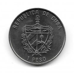 Münze Kuba 1 Peso Jahr 2007 Esel von Gerona