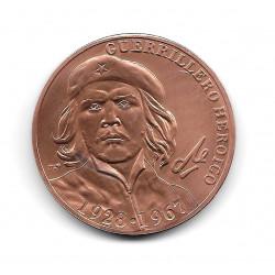 Moneda Cuba Che Guevara 1 Peso Guerrillero Heroico 1928-1967
