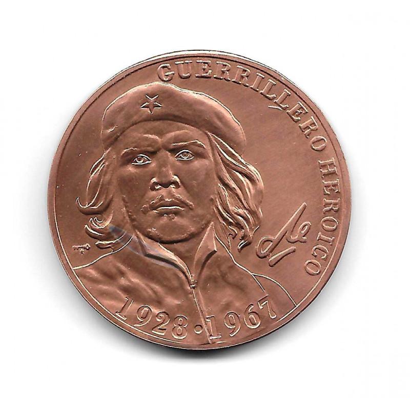 Coin Cuba Che Guevara 1 Peso Heroic Guerrilla 1928-1967