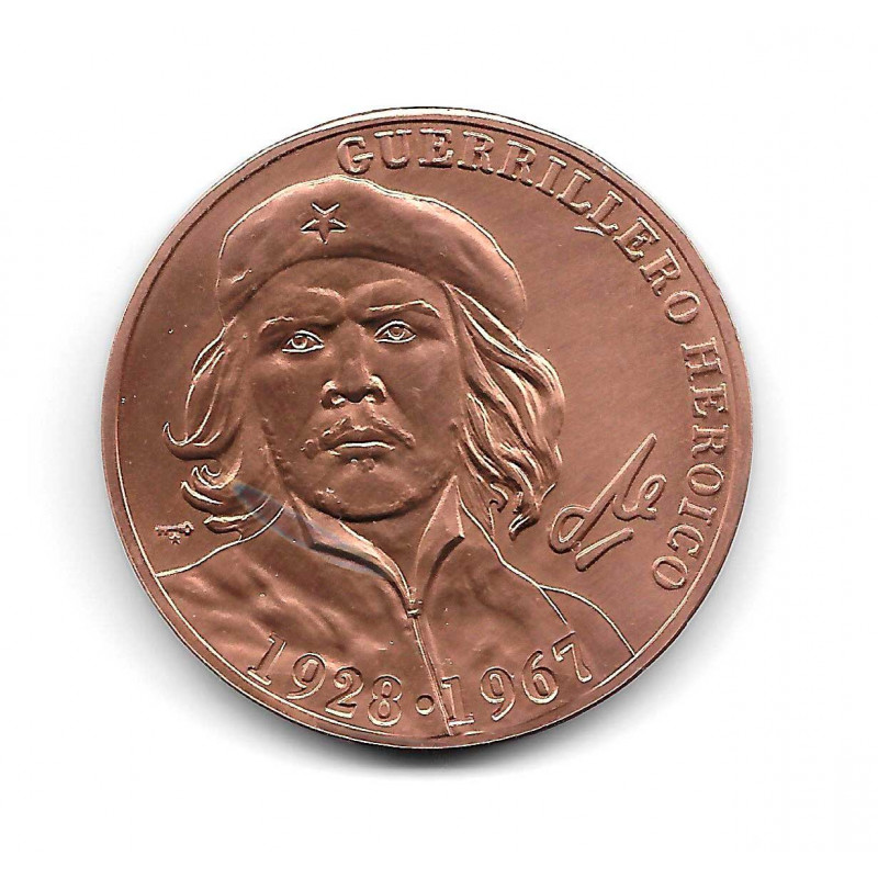 Münze Kuba Che Guevara 1 Peso Heroischer Guerillakämpfer 1928-1967