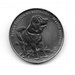 Münze Kuba 1 Peso Jahr 2007 Spanischer Mastiff