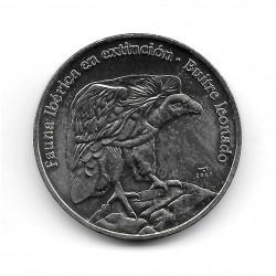 Münze Kuba 1 Peso Jahr 2007 Tawny Geier