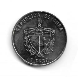 Moneda Cuba 1 Peso Año 2007 Buitre Leonado
