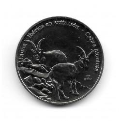 Münze Kuba 1 Peso Jahr 2007 Bergziege