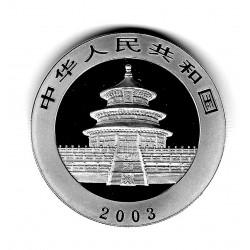 Coin China 10 Yuan Year 2003 Silver Panda Proof