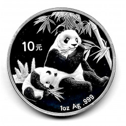 Coin China 10 Yuan Year 2007 Silver Panda Proof