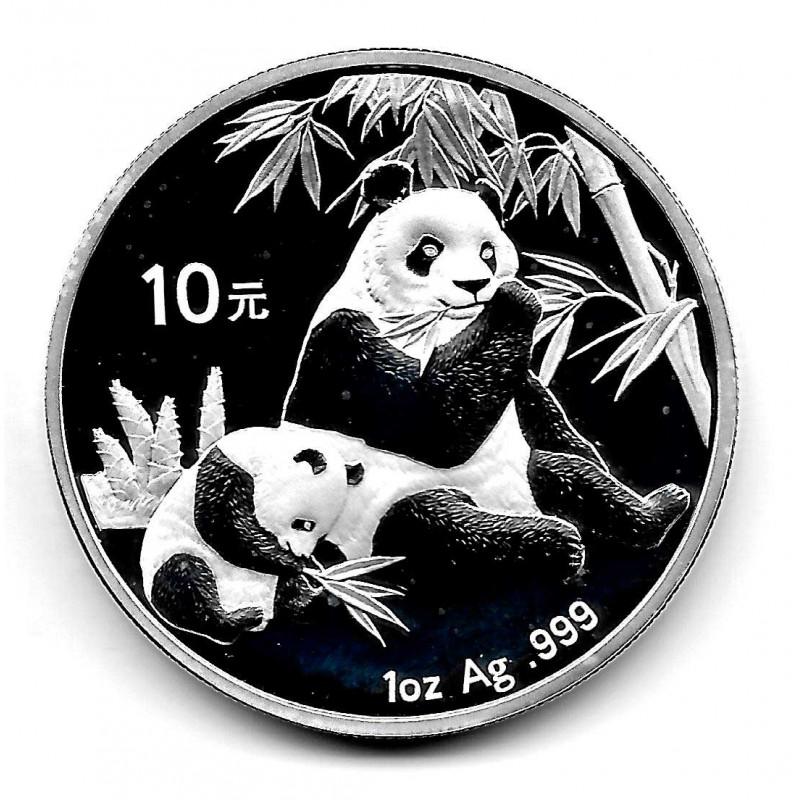 Coin China 10 Yuan Year 2007 Silver Panda Proof