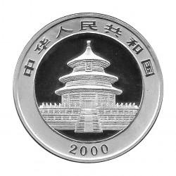 Coin China 10 Yuan Year 2000 Silver Panda Proof