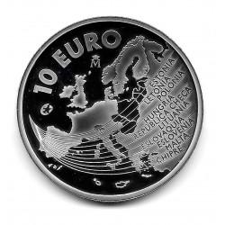 Münze Spanien 10 Euro 2004 Erweiterung der Europäischen Union