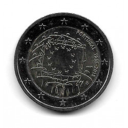 Coin Portugal 2 Euro Year 2015