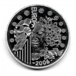Münze Frankreich 1,5 Euros Jahr 2006 Europäische Währungsunion Silber Proof