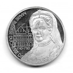 Coin Luxembourg 25 ECU Year 1994 Charlotte for a free Europe Silver Proof