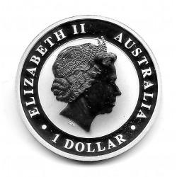 Coin Australia 1 Dollar Year 2016 Australian Kookaburra Silver Proof