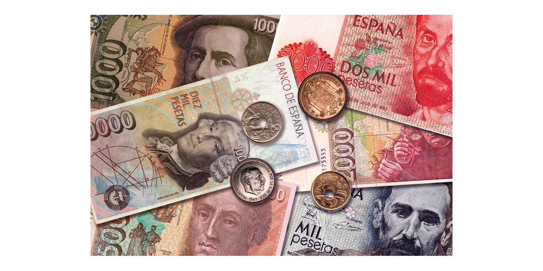 Último año para canjear pesetas. Año 2020.
